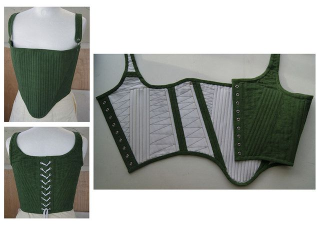 tudor corset (16th century) made by phoebe roberts