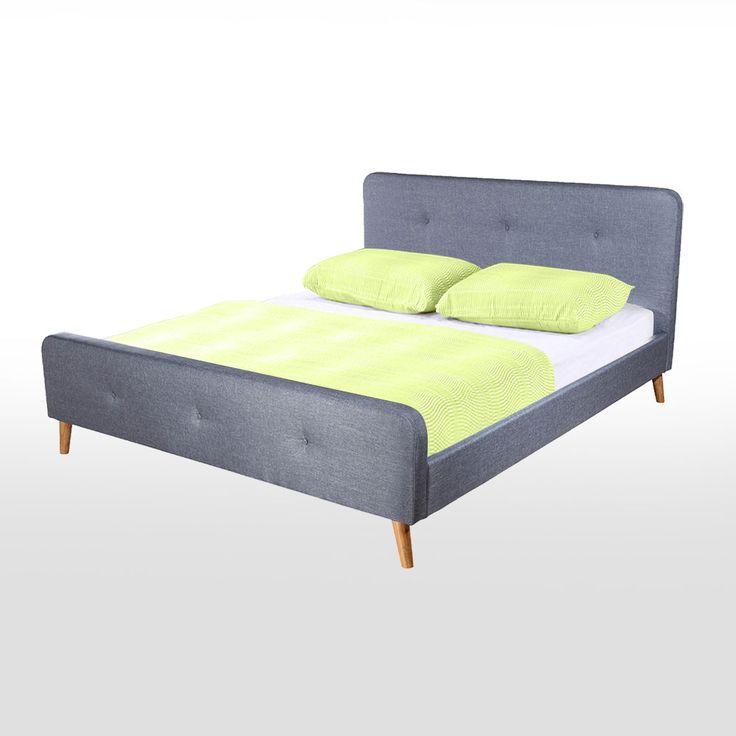 Vintage Buy Luxo Larvik Scandinavian Style Queen Bed Space Grey Online Australia