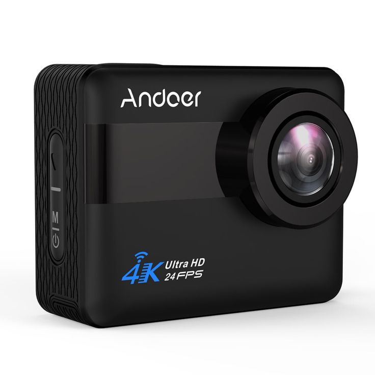 Andoer AN1 4K WiFi Sports Action Sales Online black - Tomtop.com