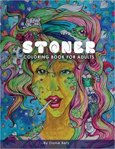 Stoner Adult Coloring Book