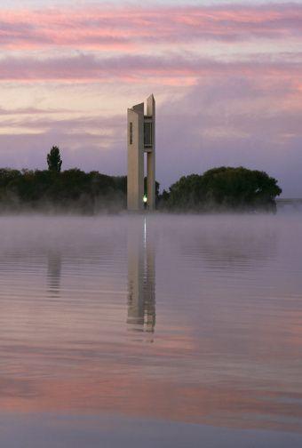 The Carillon at dawn - Canberra - Australia