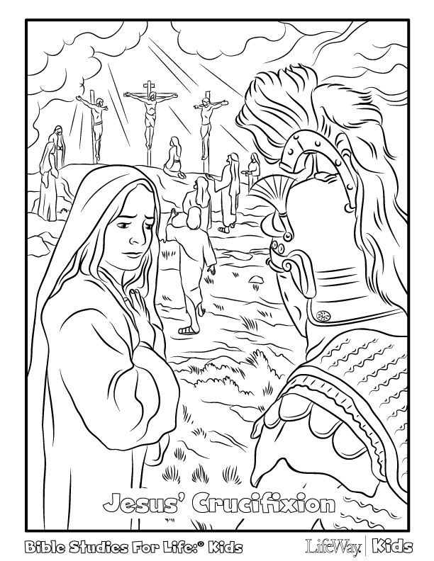 death and resurrection coloring pages - photo#36
