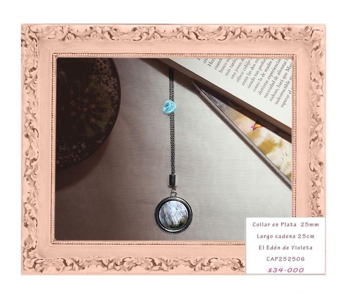 Cadena en plata 25mm. Las fotos usadas en estas joyas son fotografías de autor.Cada joyas es única en su imagen. Para hacer pedidos enviar un correo a violetadreamshop@gmail.com o un whatsapp 3214785207 con el código de la joya de su interés. #mujeres #negociosonline #emprendedoresonline #emprendimiento #diseño #handmadejewelry #100colombiano #handmade #publicidad #fashion #tendencia #art #tiendadediseño #nuevaspropuestas #nuevacoleccion #hechoconpasion #mujeremprededora #tbt…