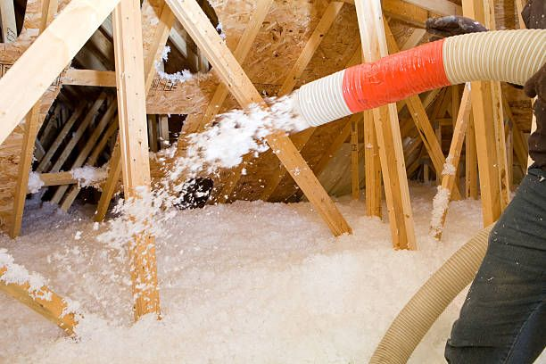Blown In Insulation Can Prevent Ice Dams From Forming Attic Insulation Blown In Insulation Home Insulation