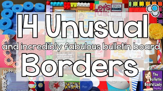 Quirky Classroom Ideas ~ Best bulletin board borders ideas on pinterest