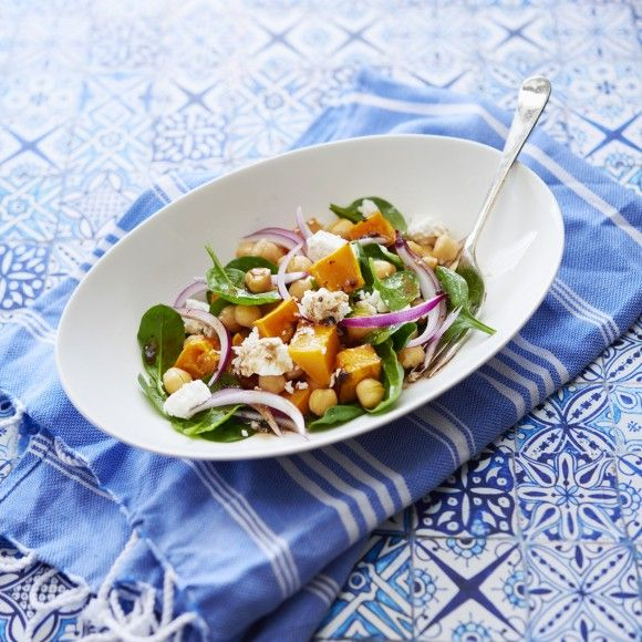 ZOOSH Light Lunch Pumpkin and Chickpea Salad