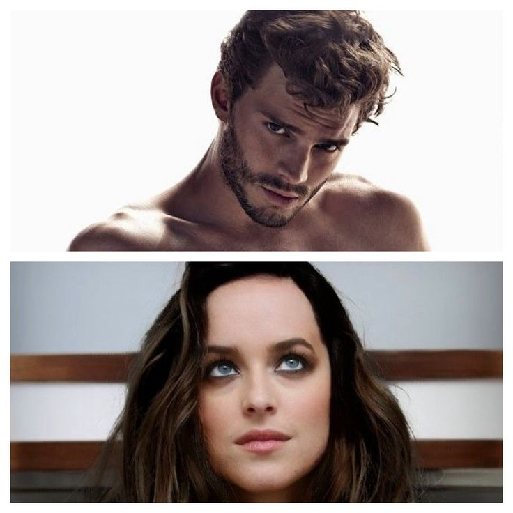 Jamie Dornan, Dakota Johnson - Christian Grey & Ana Steel, Fifty Shades of Grey