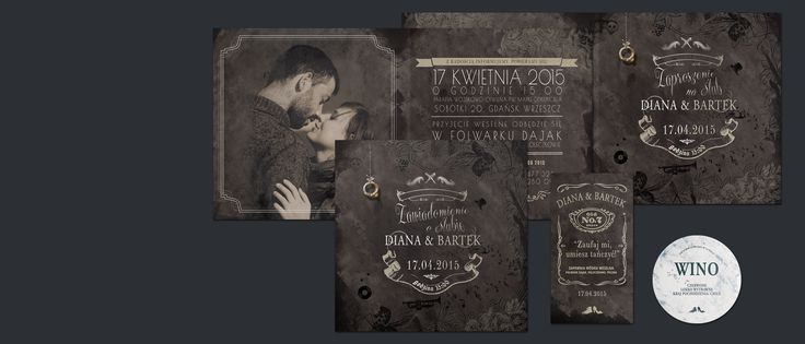 #rockwedding #heavyrockwedding #rockinvitation #hardrockwedding #zaproszeniaslubne #papeteriaslubna #slub #wesele #lovedesign #design #weddingdesign