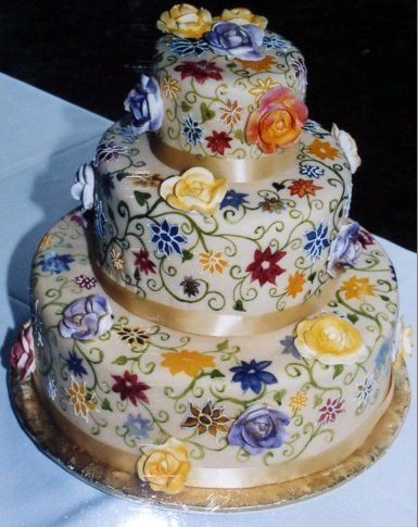 Painted Cake - Serendipity Cakes & Catering