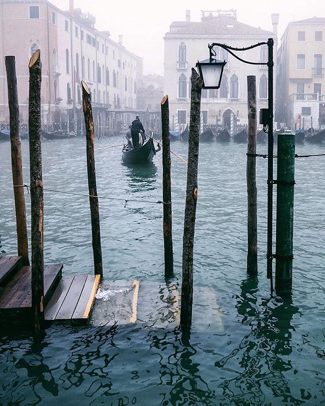 #foggyday in #venice #venezia                                                                                                                                                     More