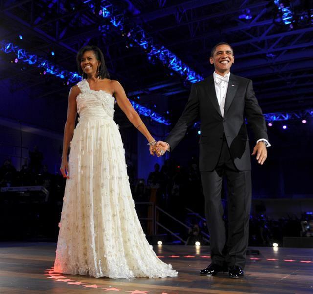 Мишель обама шифоновое платье фото