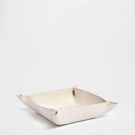Leren Videpoche - Accessoire Decoratie - Decoratie   Zara Home België