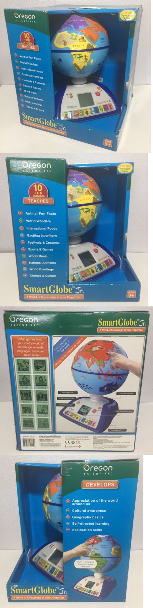 Learning Systems 158695: Oregon Scientific Smart Globe Jr New Factory Sealed Learning Teaching Globe -> BUY IT NOW ONLY: $59.99 on eBay!