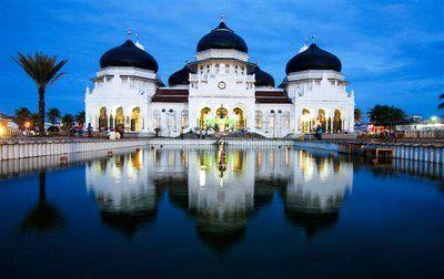 Baiturrahman Mosque, Aceh
