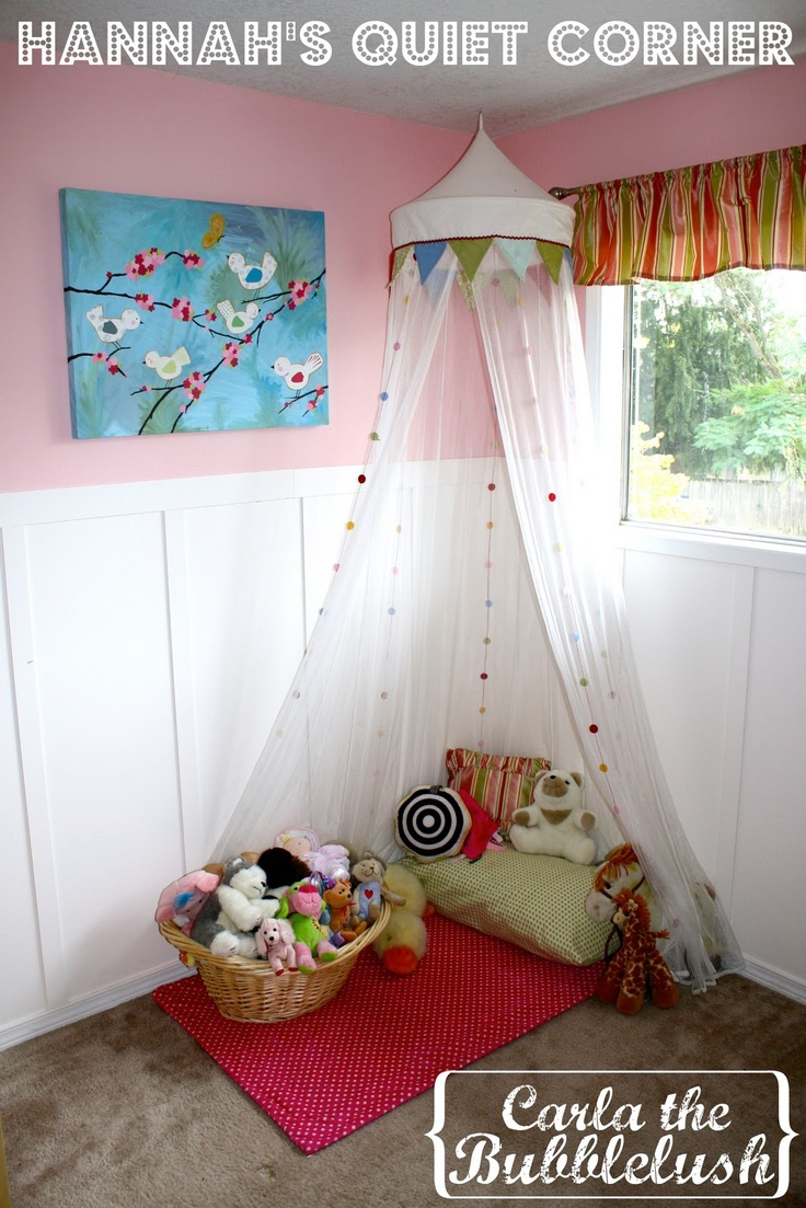 Hannah S Quiet Corner Canopy Amp Play Tent Pinspired
