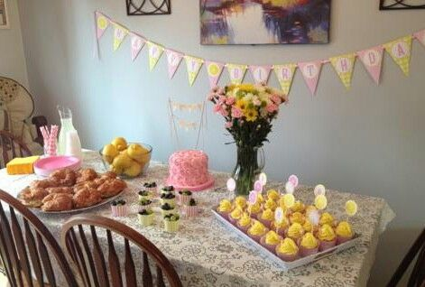 A Pink Lemonade First Birthday Party