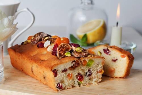 Aprikosen-Feigenkuchen