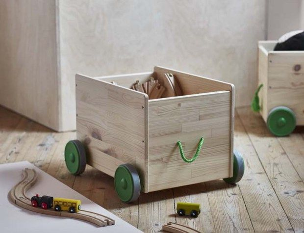 Ikea | Flisat | Wooden toy storage