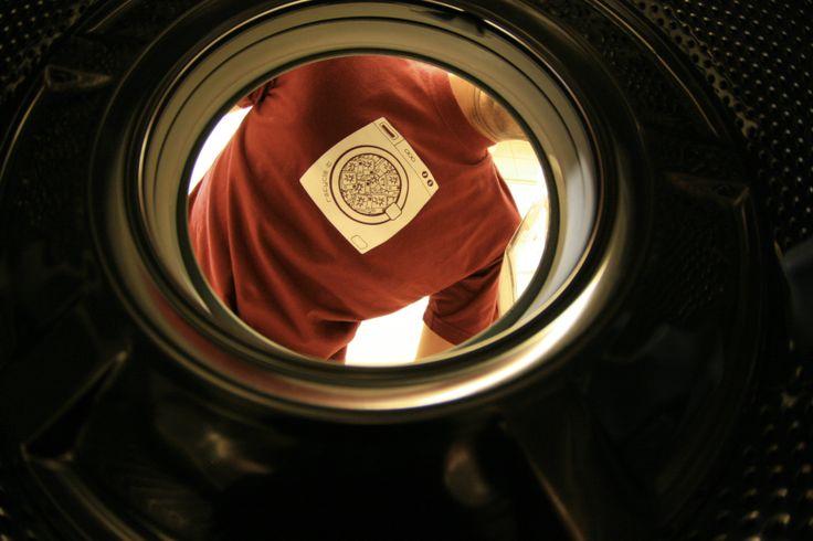 Logo washing machine #tshirt #recycleit