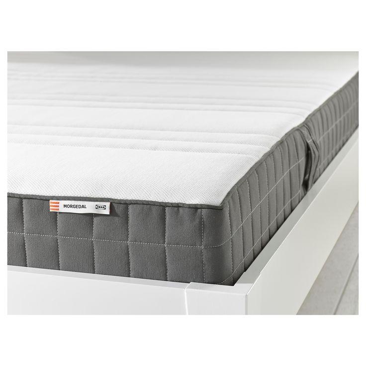 morgedal foam mattress firm dark gray tiny house ideas ikea mattress review mattress. Black Bedroom Furniture Sets. Home Design Ideas