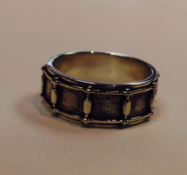Snare Drum Ring by marinellijewelers on Etsy, $75.00