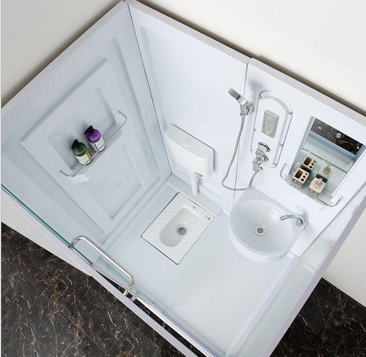 $725  Cheap But High Quality Bathroom Prefab Modular Bathroom Units - Buy Bathroom Unit,Prefabricated Bathroom Unit,All In One Bathroom Units Product on Alibaba.com