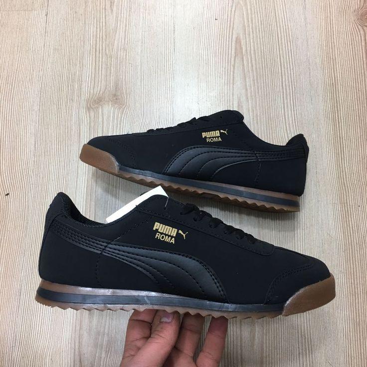 Puma Roma Basic Siyah Kauçuk Taban Günlük Spor Ayakkabı  WhatsApp Bilgi Hattı ve Sipariş : 0 (541) 2244 541  www.renkliayaklar.net