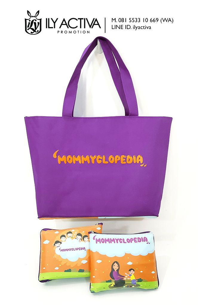 Tas Lipat Belanja -- Majalah Mommyclopedia, Surabaya