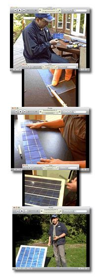 how to make own solar panel at home