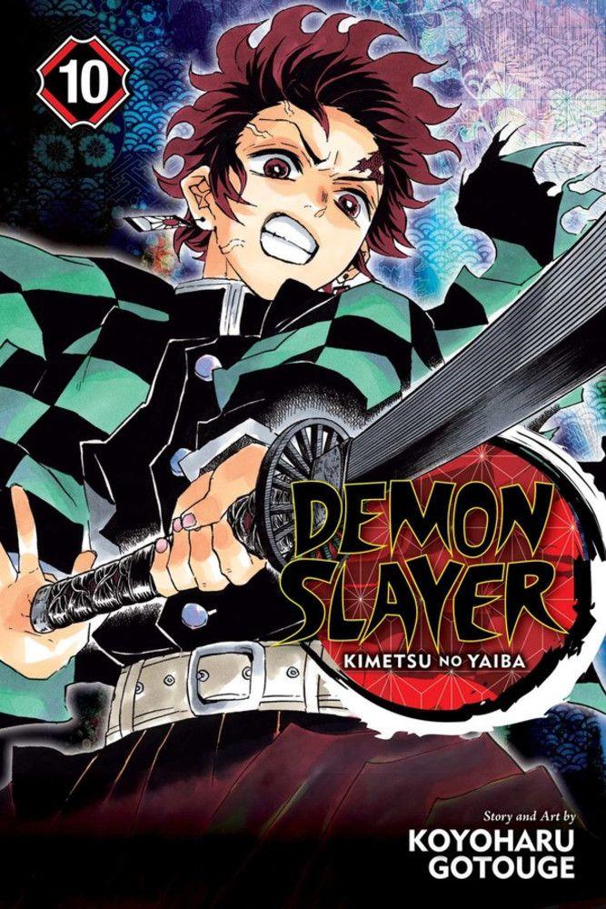 Demon Slayer Kimetsu No Yaiba Manga Volume 10 In 2021 Manga Covers Slayer Demon