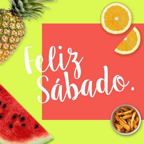 Feliz fin de semana señores  #felizsabado #findesemana #descanso #ourcards #tarjetas #cards #saturday #weekend #venezuela #Margarita #designersvenezuela #talentovenezolano #pineapple #watermelon #orange #fries #food #design