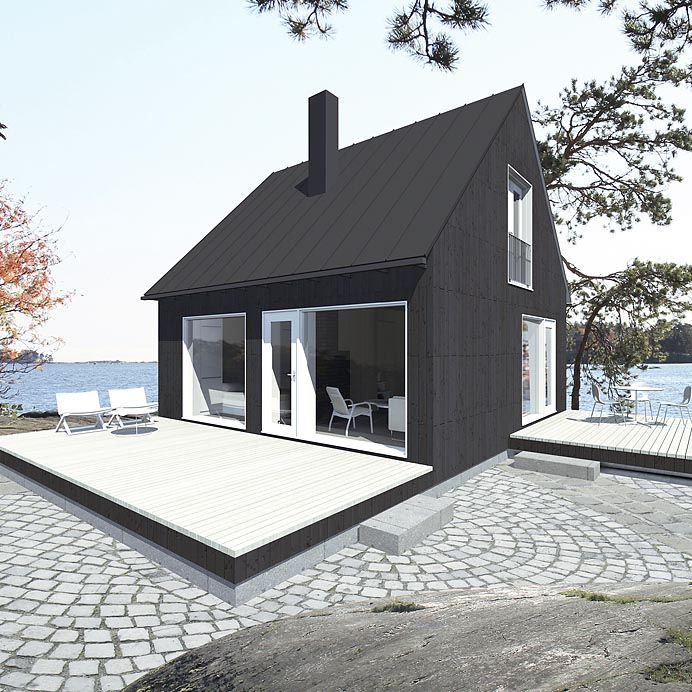Saaristo cottage by Jarkko Könönen for Sunhouse