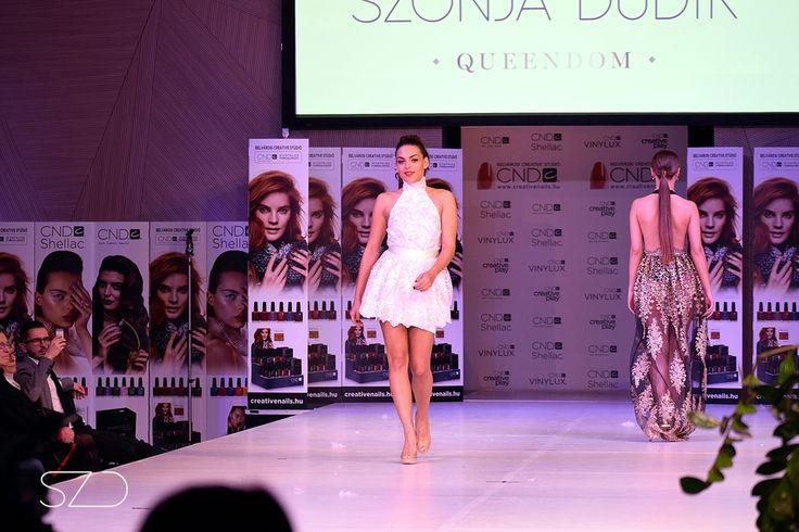 SZONJA DUDIK fashion show in MOSZI 2016 Princess collection