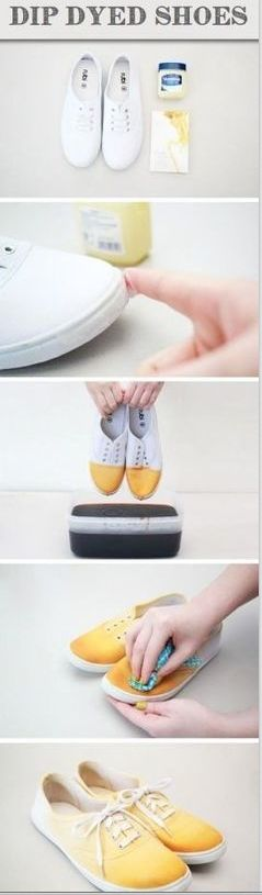 dip dye your shoes!