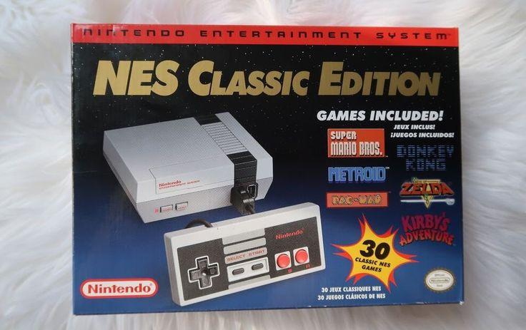 Nintendo Entertainment System NES Classic Edition White Console