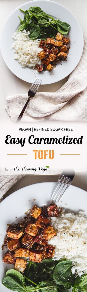 This recipe is for everyone who has ever encountered tasteless and plain tofu. Voula – the easiest and tastiest caramelized tofu recipe ever!