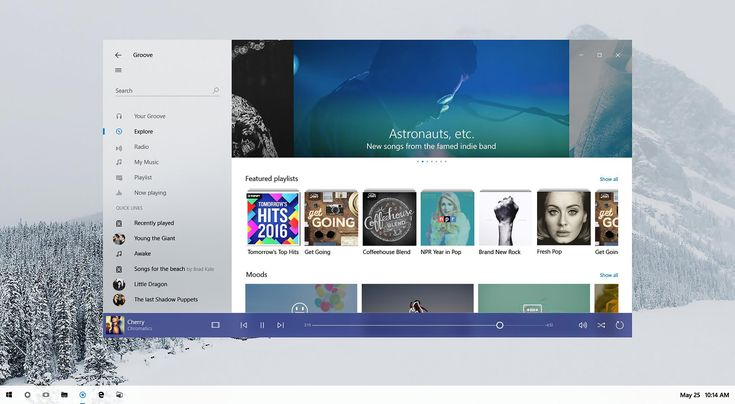 Microsofts Project Neon redesigns Windows 10