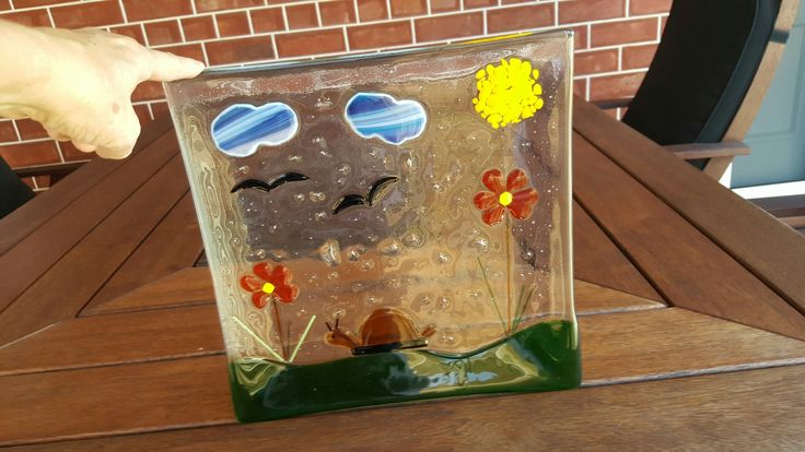 Fused Glass - first effort
