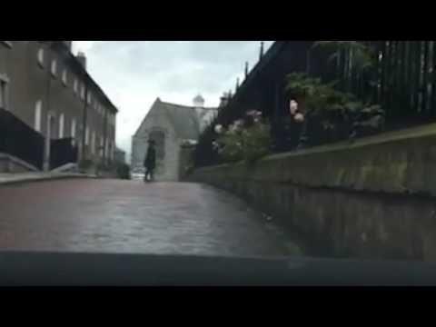 Watch: Dashcam Captures Spooky 'Shadow Person' in Ireland   Coast to Coast AM