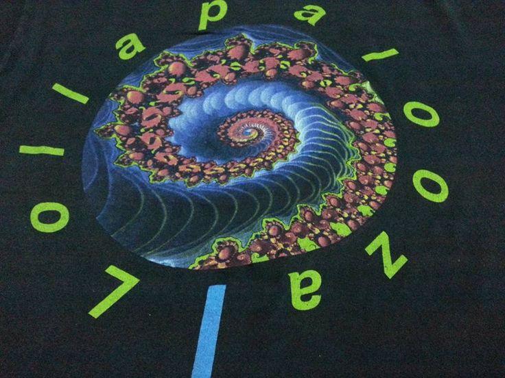 Vintage 1991 Lollapalooza Festival T-shirt