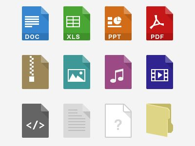 Filetypes icon by Ray