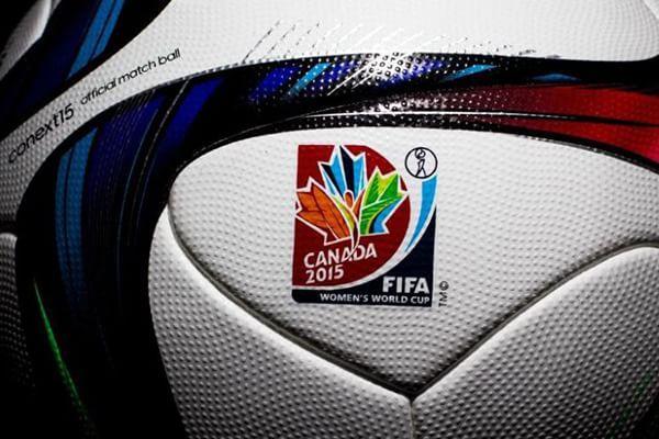 Balón Adidas del mundial de Canadá FIFA WWC 2105 #balón #Adidas #FIFA #FIFAWWC #FIFAWWC2015 #fútbol #FútbolFemenino