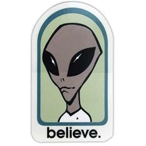 Alien Workshop Skateboards   Alien Workshop Believe Sticker