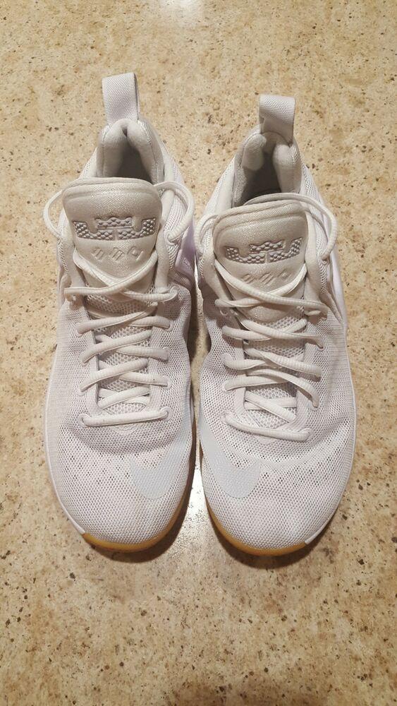 19063ce366f74 Nike Lebron Zoom Witness White Platinum Shoes Size 7.5  fashion  clothing   shoes  accessories  mensshoes  athleticshoes (ebay link)