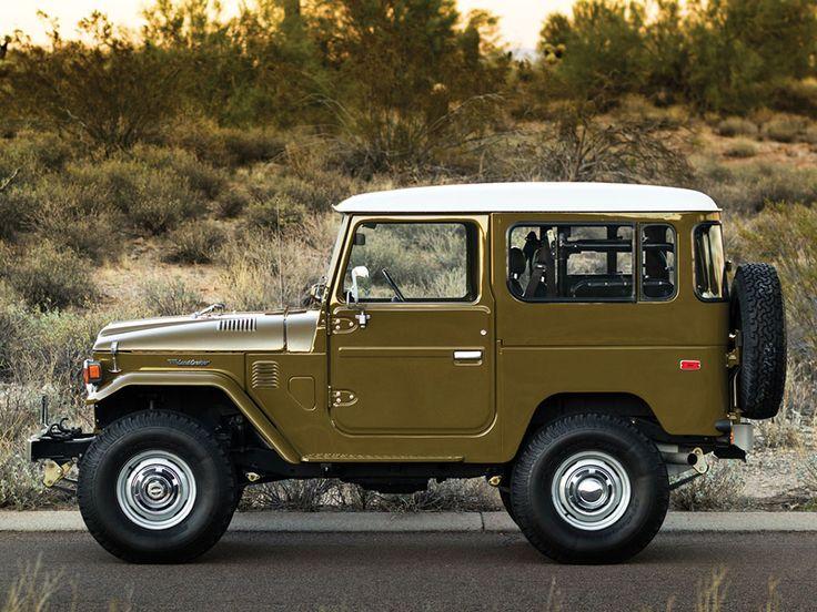 Overlandia: Restored 1977 Toyota FJ40 Land Cruiser