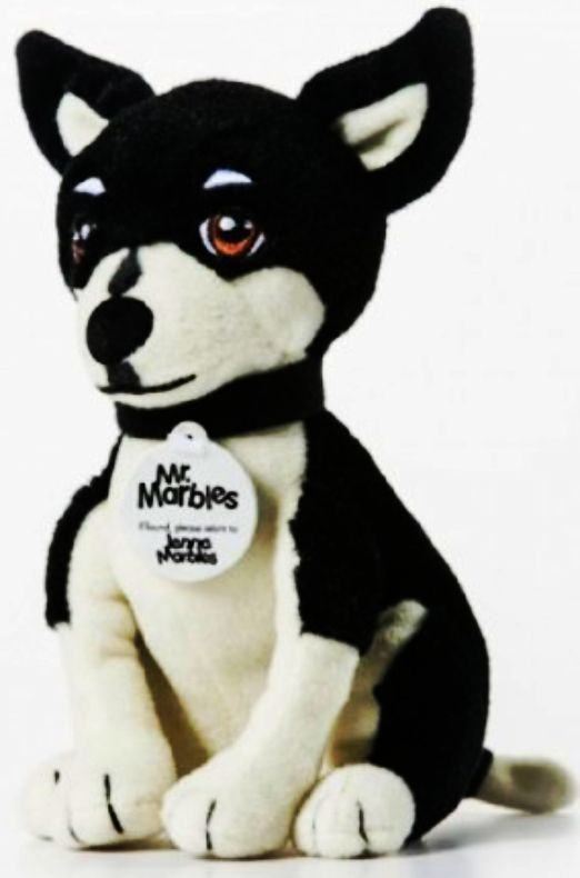 Mr. Marbles Jenna Marbles Stuffed Animal Collectible Squeaker Toy Chihuahua Dog #JennaMarbles