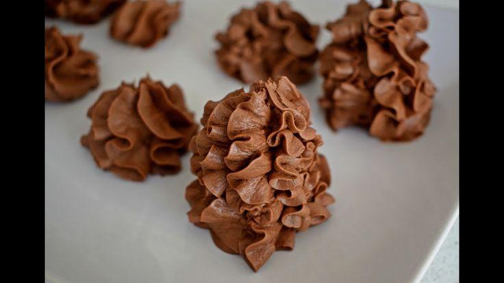 كريمة الزبدة بالشوكولاتة بطريقة جديدة جدا و سهلة