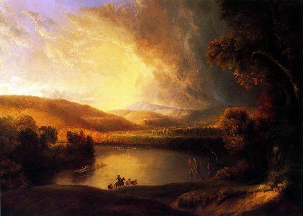 Storm in the Valley, Alvan Fisher