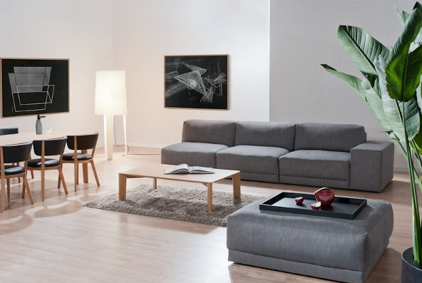 BADU sofa salon www.dotorangedesign.com