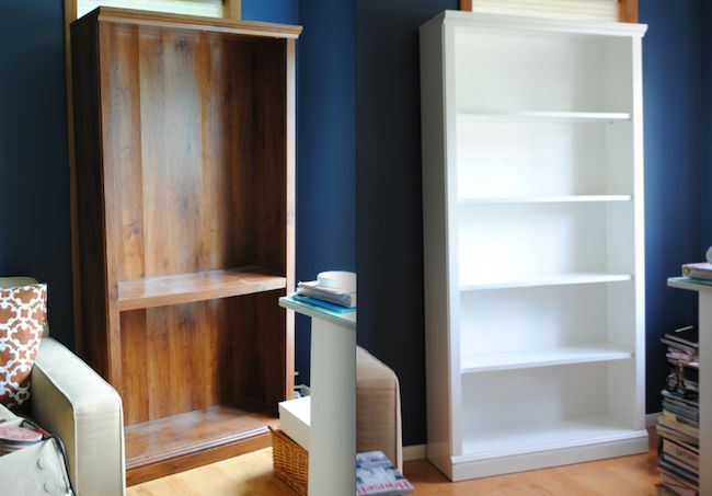 How To Paint Laminate Bobs Grandmothers And Book Shelves